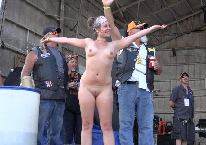 biker girls caught naked
