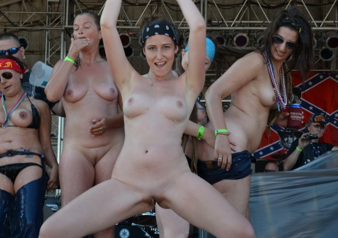 North american nude bikers
